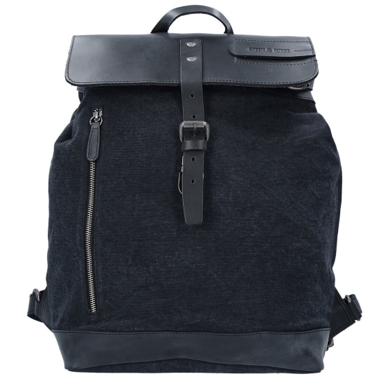 Greenburry BLACK SAILS RUCKSACK 44 CM LAPTOPFACH Herren schwarz