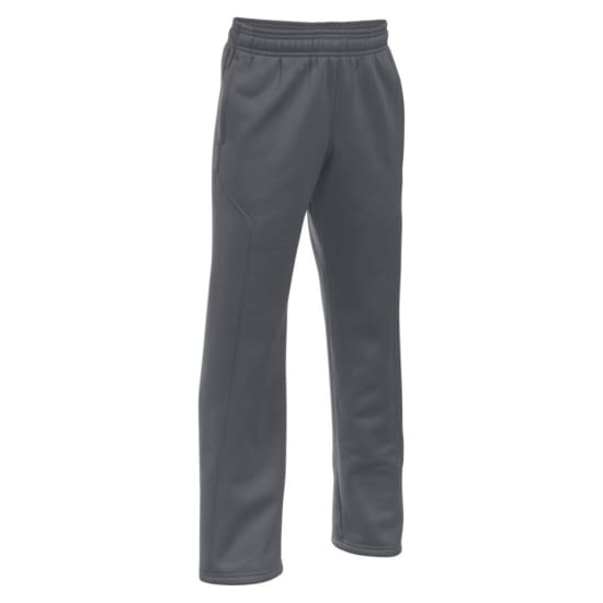 Under Armour AF Storm Big Logo Pantalon running Enfants gris