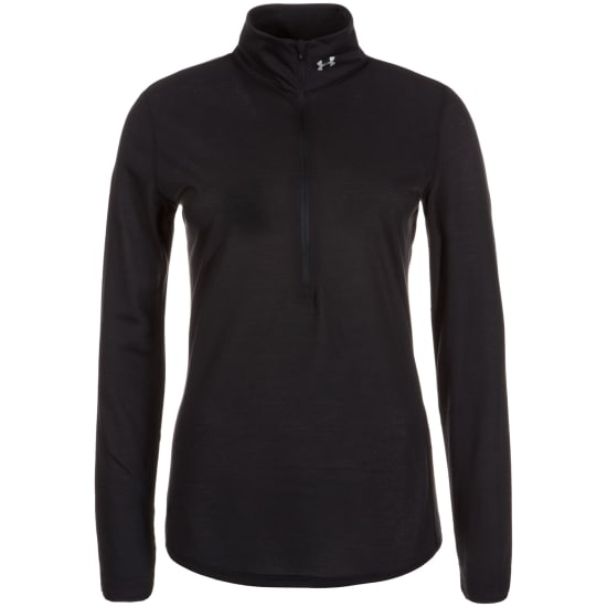 Under Armour Streaker 1/2 Zip Shirt de running Femme noir