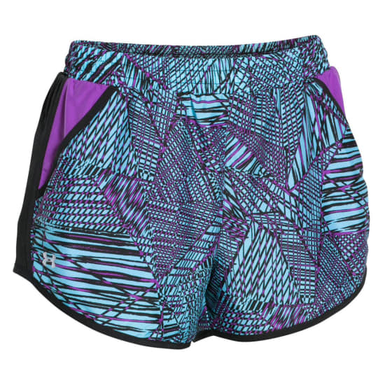 Under Armour Fly By Printed Short de running Femme gris