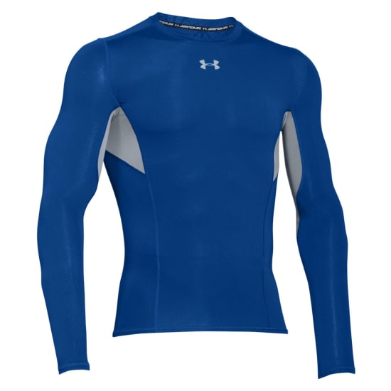 Under Armour HG Coolswitch Comp Longsleeve Shirt de compression Hommes bleu