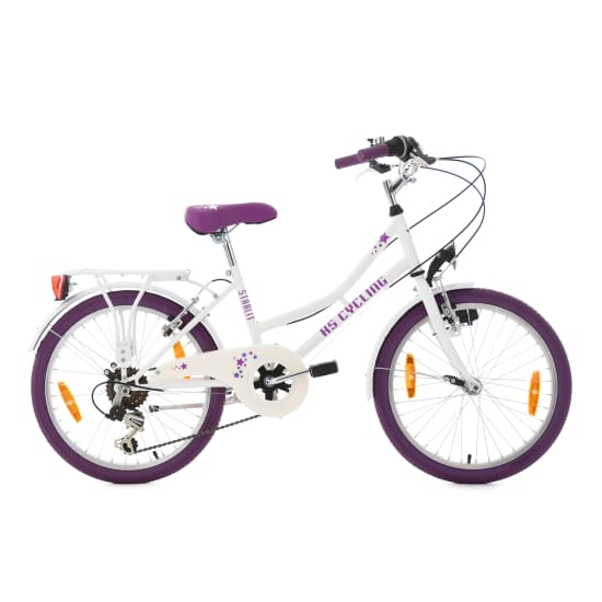 "KS Cycling FAHRRAD STARLIT 20"" Junior Bike Kinder weiß"