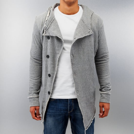 Red Bridge SIX BUTTONS CARDIGAN Herren grau