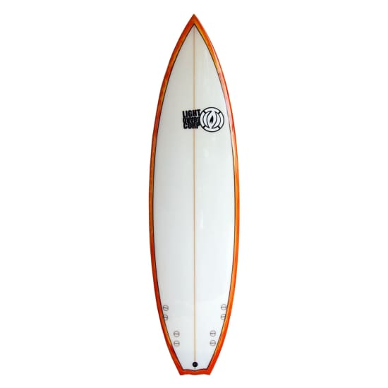 "Light QUAD PERFORMANCE SHORTBOARD 6'5"" SURFBRETT multicolor"