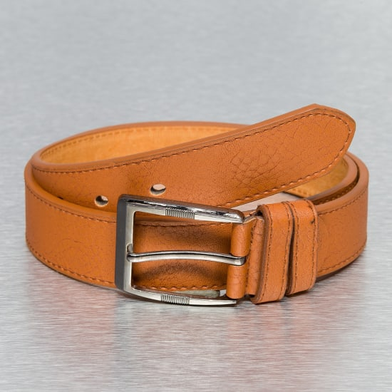 Kaiser Jewelry LETHER BELT Gürtel Herren braun