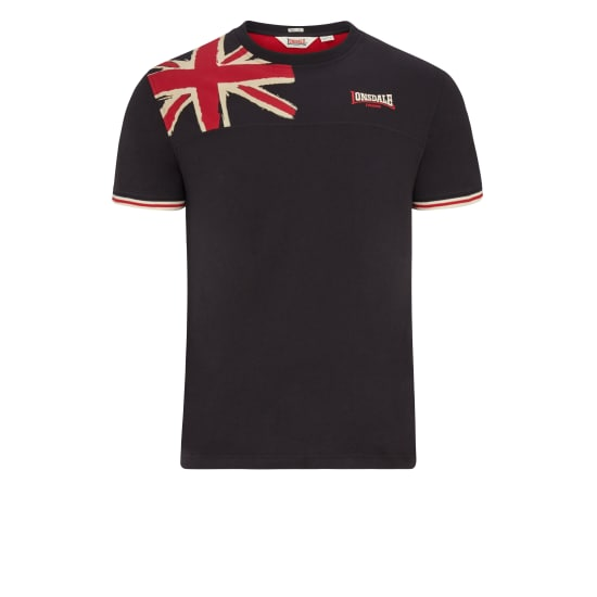 Lonsdale London LEYBOURNE T-Shirt schwarz