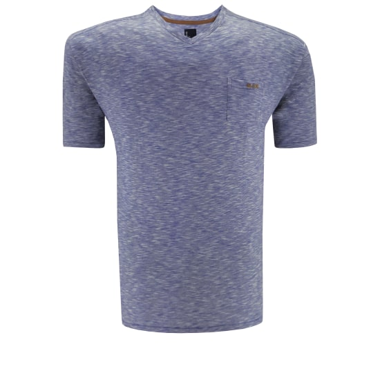 Fisher and Bennet T-SHIRT Herren blau