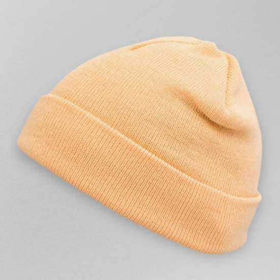 MasterDis PASTEL BASIC FLAP BEANIE Herren orange