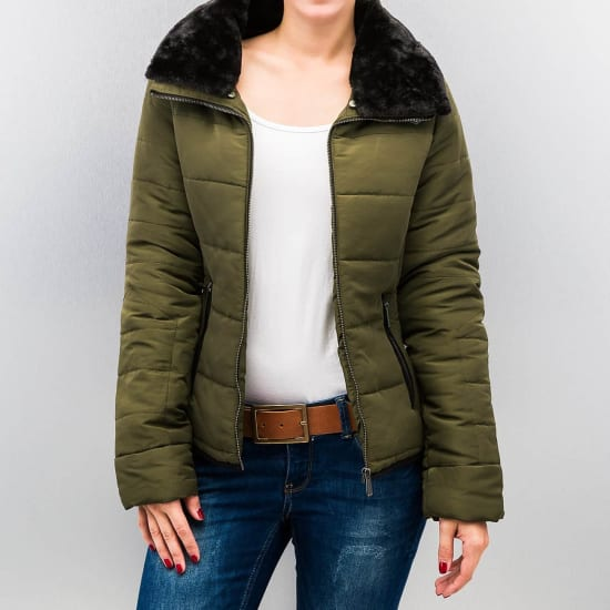 Urban Surface YOKOSUKA JACKET Winterparka Damen oliv