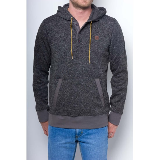 Element HIGHLAND Fleece Hoodie Herren grau