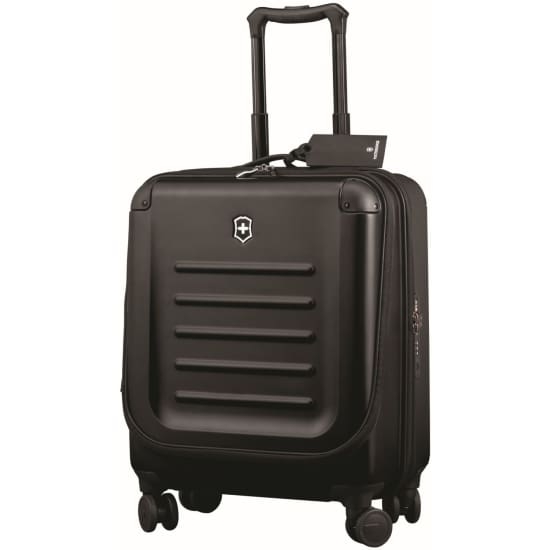 Victorinox Spectra 2.0 Dual-Access Global Carry-On 4-Rollen-Kabinentrolley 55 cm schwarz