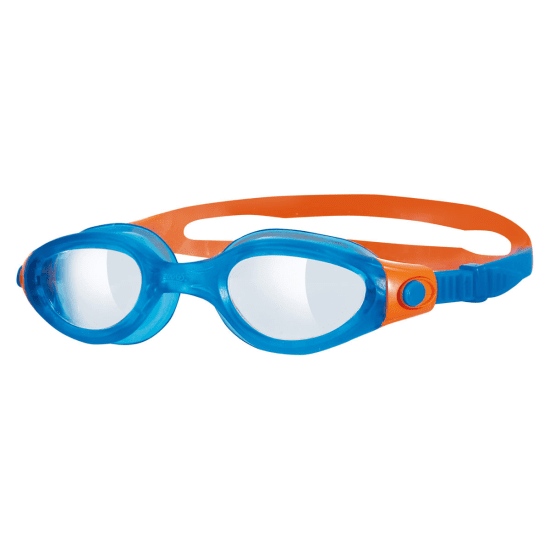 Zoggs PHANTOM ELITE JUNIOR Schwimmbrille Kinder weiß