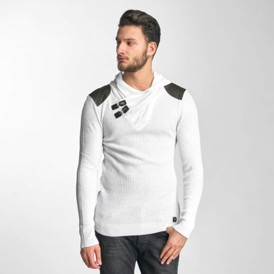 Red Bridge KEVIN SWEATER Herren weiß