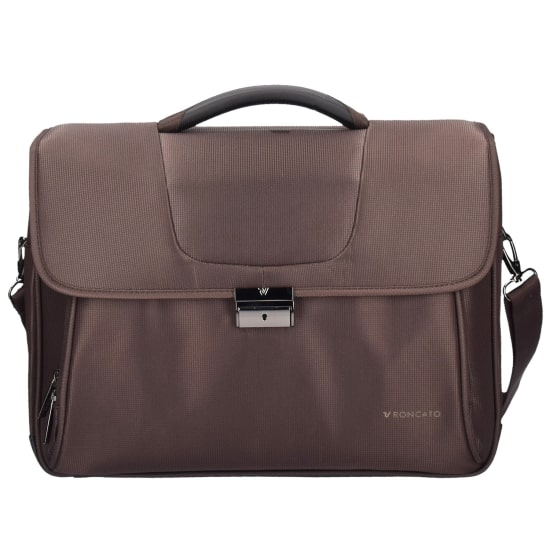 Roncato CLIO AKTENTASCHE 43 CM LAPTOPFACH Laptoptasche Damen braun