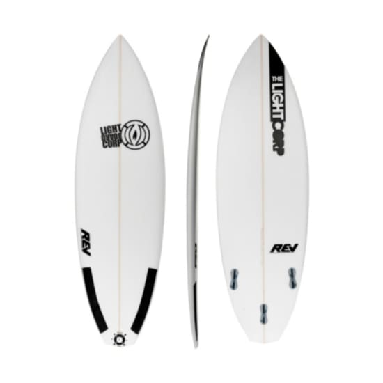 "Light RIVER SERIES / CARBON PATCH 5'10"" SURFBRETT Windsurfboard weiß"