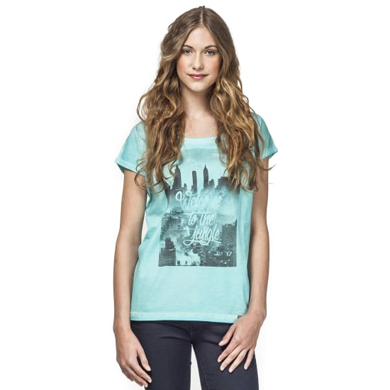 Horsefeathers THE TOWN TOP T-Shirt Damen blau