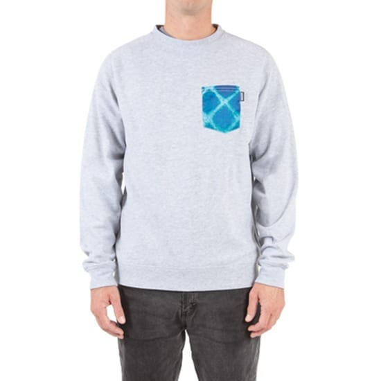 Superbrand INLAY SWEATSHIRT Herren grau