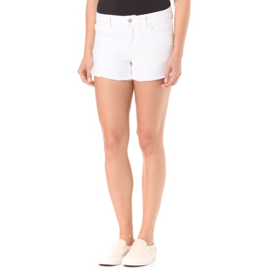 VILA VIAKEMI DENIM SHORTS Hotpants Damen weiß