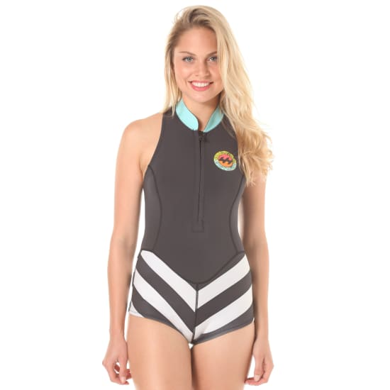 Billabong SLEEVELESS SPIRNGSUIT NEOPRENANZUG Damen schwarz