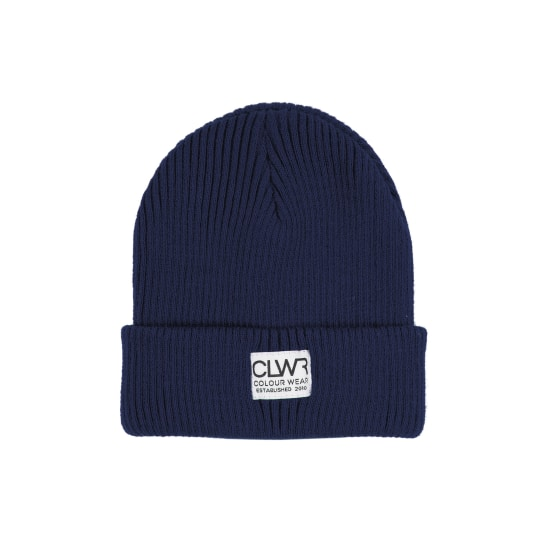 Colour Wear JAQUE MÜTZE Beanie blau