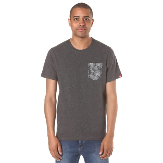 Element KAI & SUNNY POCKET T-Shirt Herren grau