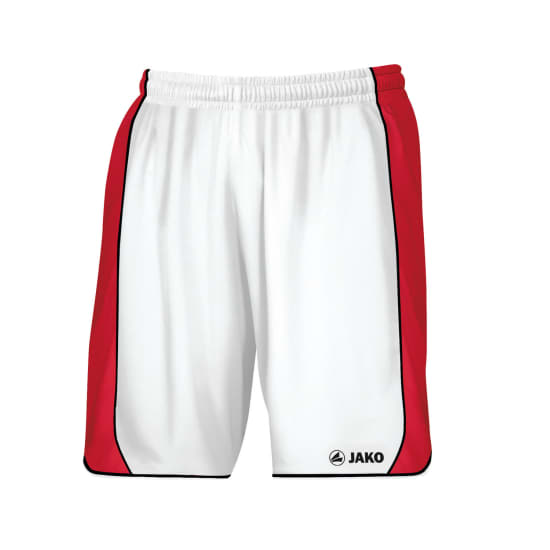 Jako Basketball Shorts Magic Herren weiß-rot