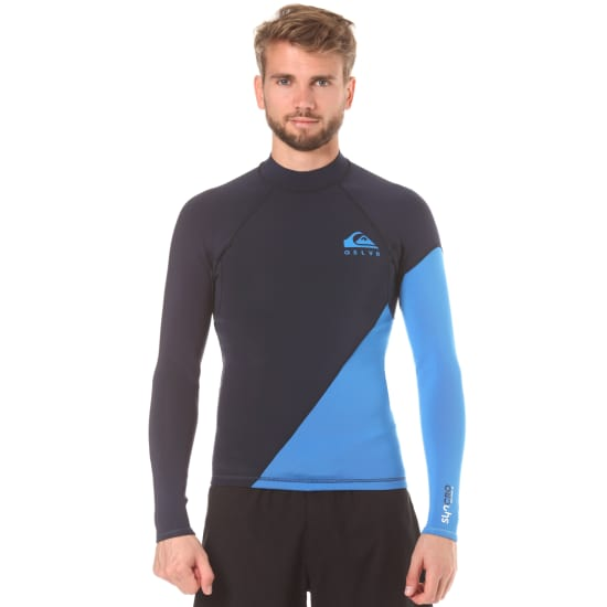Quiksilver SYNCRO NEW WAVE 1MM L/S NEOPREN TOP Herren blau