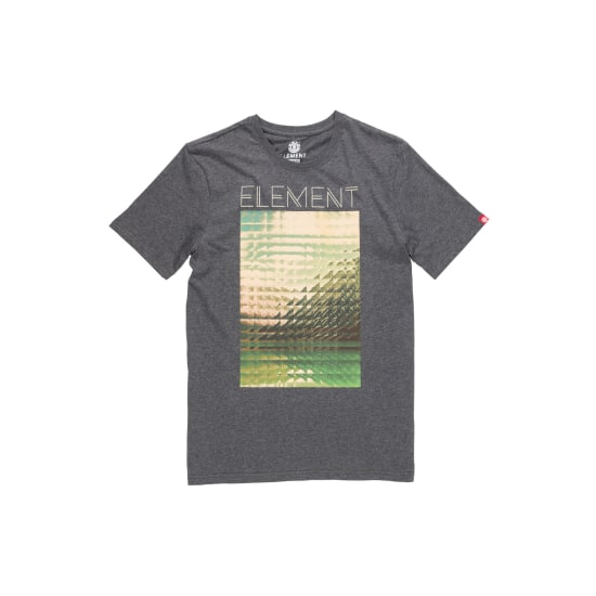 Element REFRACT T-Shirt Herren grau