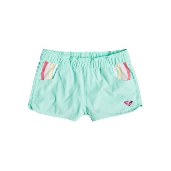 Roxy RAINBOW DOTS BOARDSHORTS Kinder grün