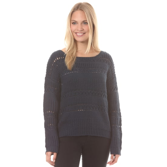 Roxy DREAM BELIEVER STRICKPULLOVER Damen blau