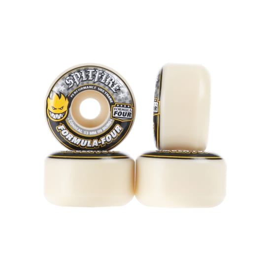 Spitfire F4 CONICAL 99A 53MM SKATE ROLLEN gelb