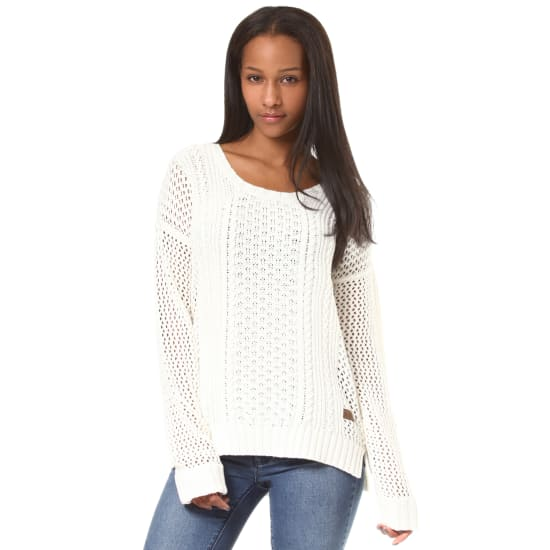 Element VOYAGE STRICKPULLOVER Damen weiß