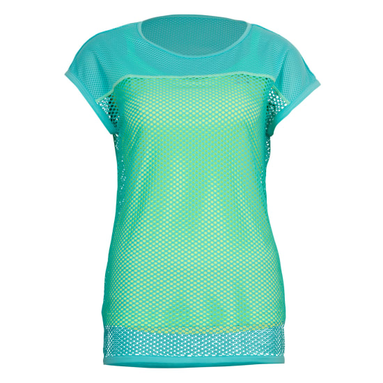 TAO SUPRASONIC TEE WITH TOP Laufshirt Damen blau