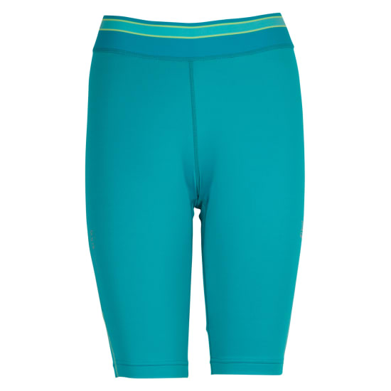 TAO HALB SUPRASONIC SHORTIES 3/4 Lauftight Damen türkis