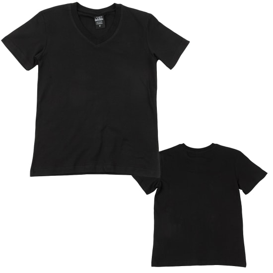 Urban Classics BASIC V-NECK T-Shirt Kinder schwarz