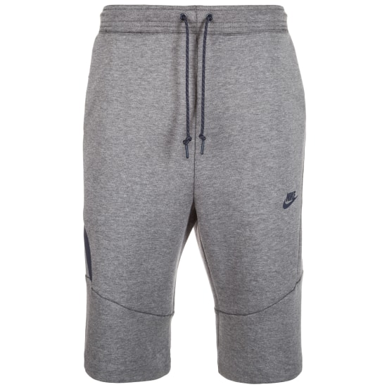 Nike TECH FLEECE 2.0 SHORT Shorts Herren grau-grau