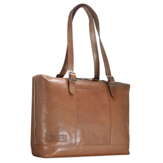 Plevier 800er Serie Business Shopper Tasche 42 cm Laptopfach braun