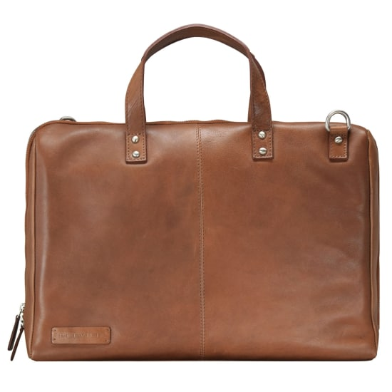 Plevier 800er Serie Business Shopper Tasche 40 cm Laptopfach braun