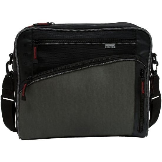 oxmox Touch-It Street Bag / Umhängetasche M grau