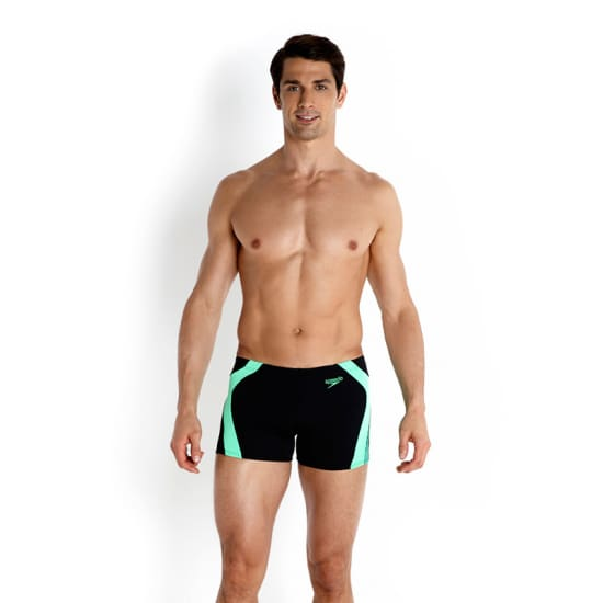 Speedo Graphic Splice short de bain Hommes blanc