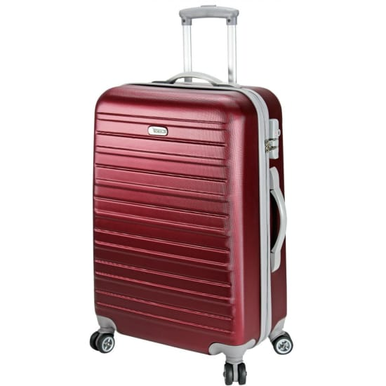 d&n SCION TRAVEL LINE 9400 4-ROLLEN TROLLEY 66 CM Damen rot