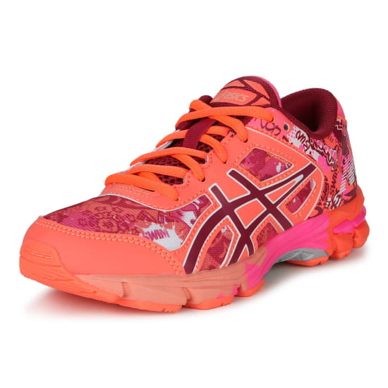 asics gel noosa tri 11 gs laufschuhe kinder apricot. Black Bedroom Furniture Sets. Home Design Ideas
