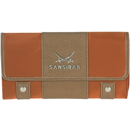 Sansibar Typhoon Geldbörse 19 cm orange