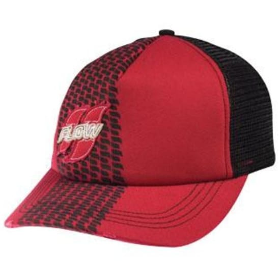 FLOW TREADED RED Basecap rot