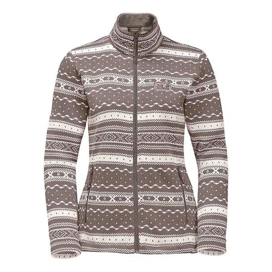 jack wolfskin shackleton knit fleece jacket women. Black Bedroom Furniture Sets. Home Design Ideas