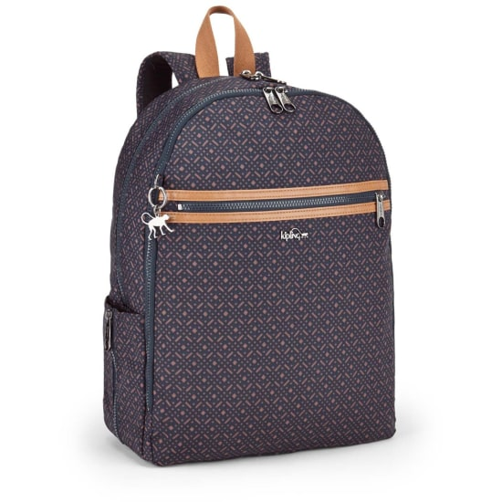 Kipling BASIC PLUS DEEDA N RUCKSACK 42 CM LAPTOPFACH Damen blau