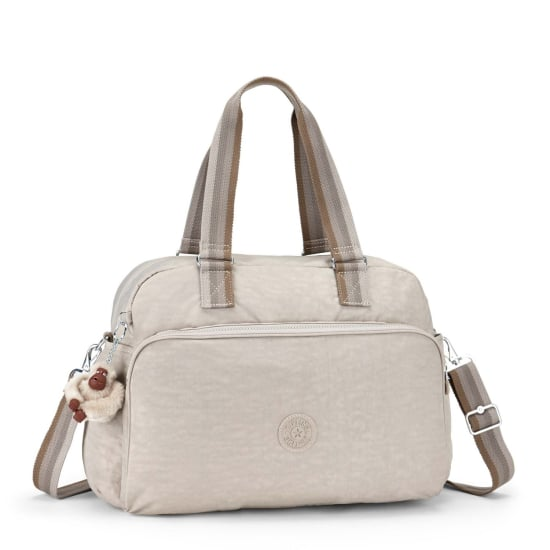 Kipling BASIC JULY BAG 17 SCHULTERTASCHE 45 CM Damen beige