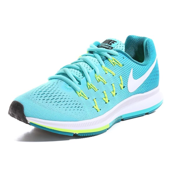 nike air zoom pegasus 33 running shoes women trrquoise. Black Bedroom Furniture Sets. Home Design Ideas