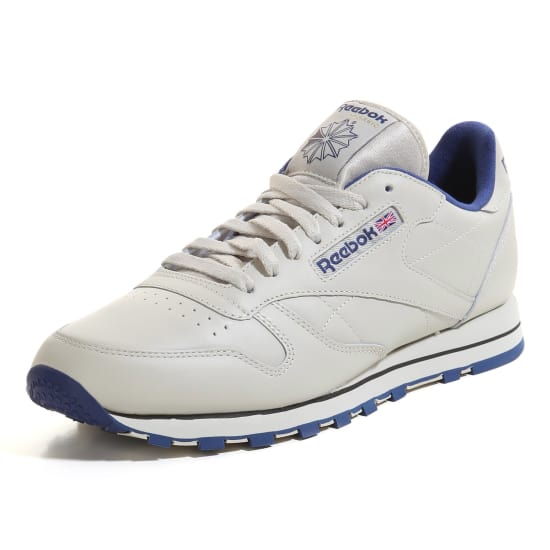 20365d6c8bc42 Reebok CLASSIC LEATHER Sneaker Low Men ecru-navy