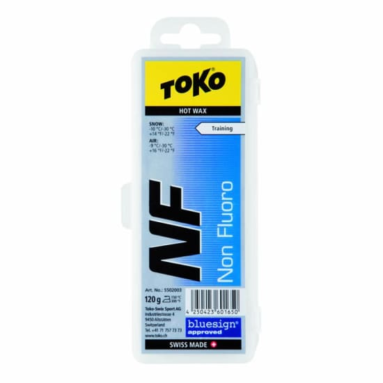 Toko NF HOT WAX BLUE 120G Grip Pad blau